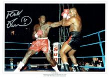 Frank Bruno Autograph Photo Signed